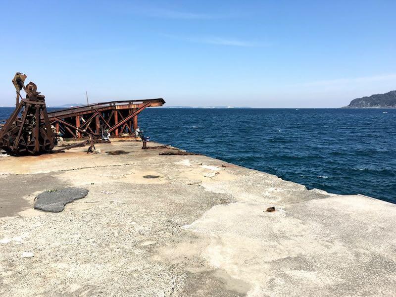 龍島港の釣り場14