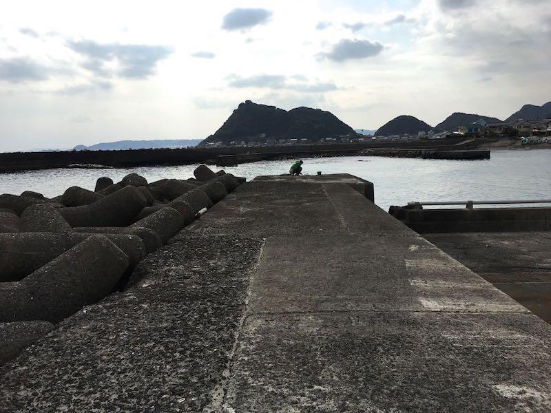 天津港の釣り場20