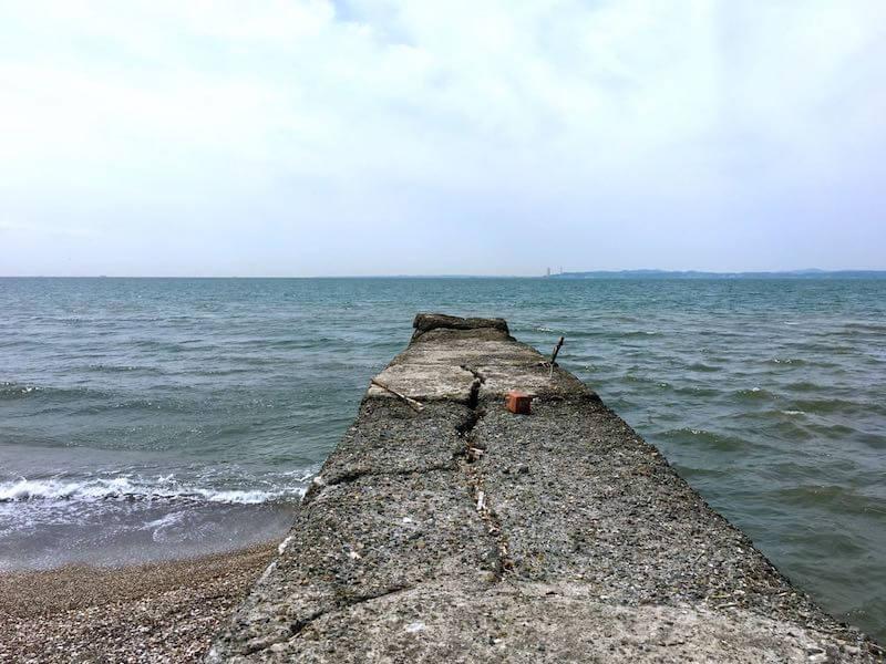 新舞子海岸の釣り場11