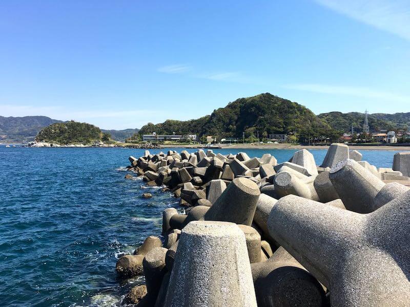 龍島港の釣り場17