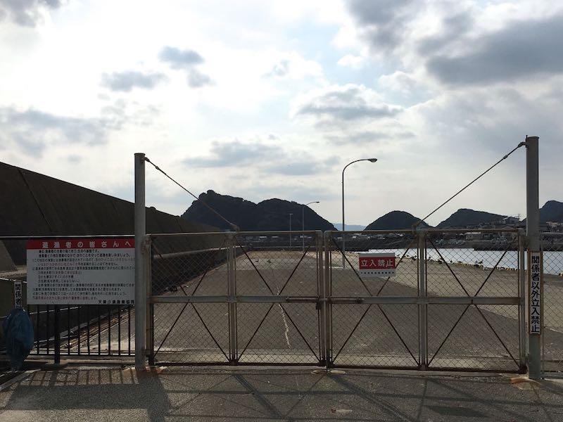 天津港の釣り場11
