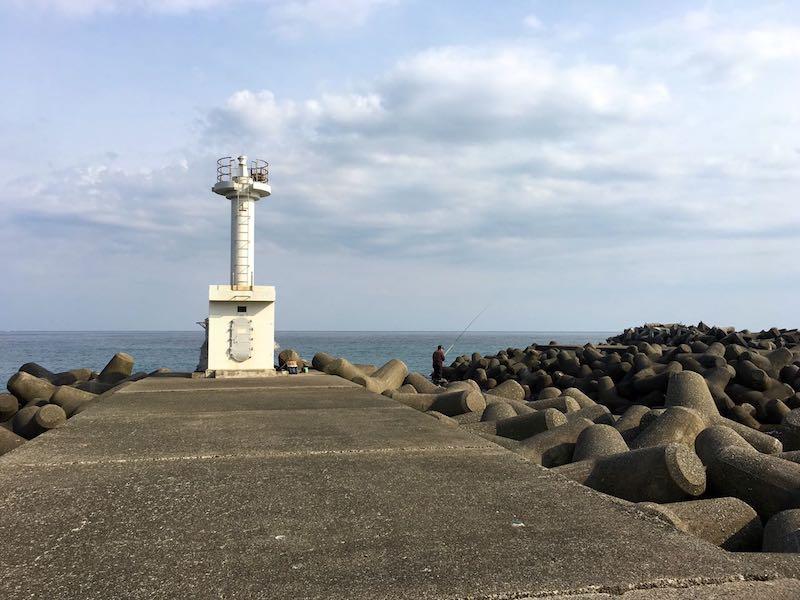 天津港の釣り場41