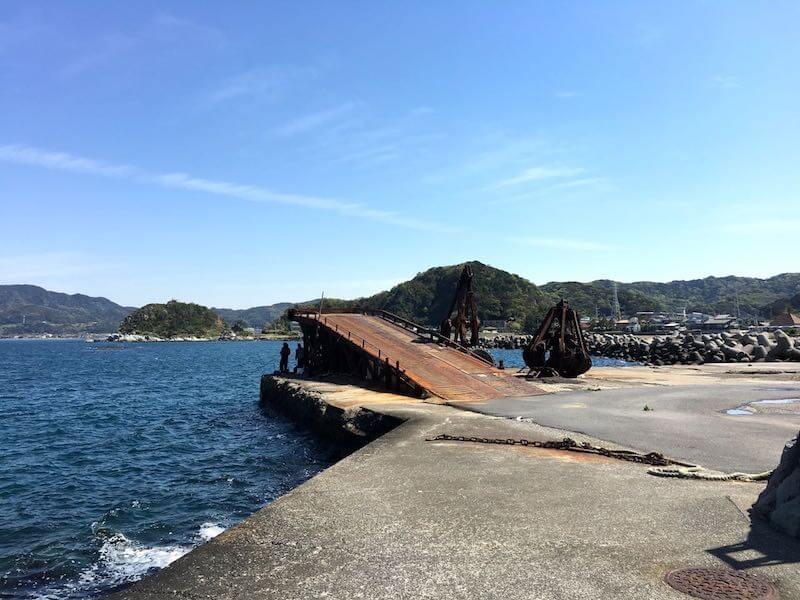 龍島港の釣り場11
