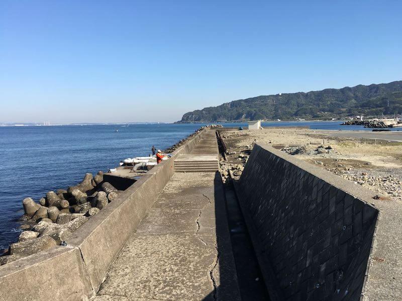 保田港の釣り場05