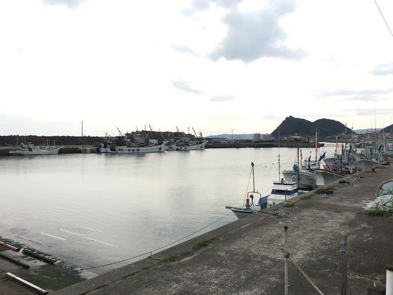 天津港の釣り場08