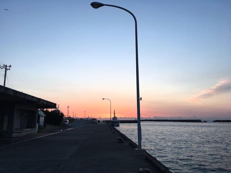 乙浜港の釣り場10