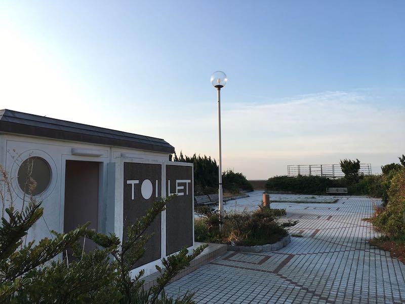 乙浜港の釣り場29