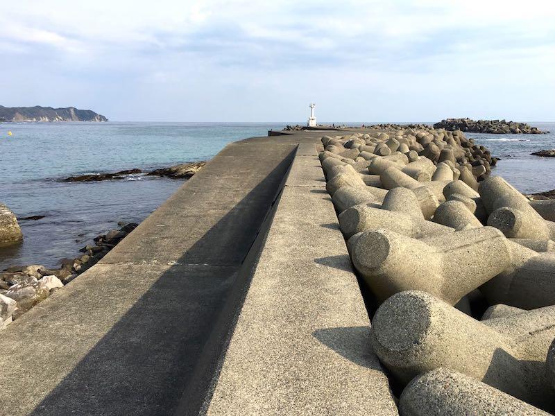 天津港の釣り場34