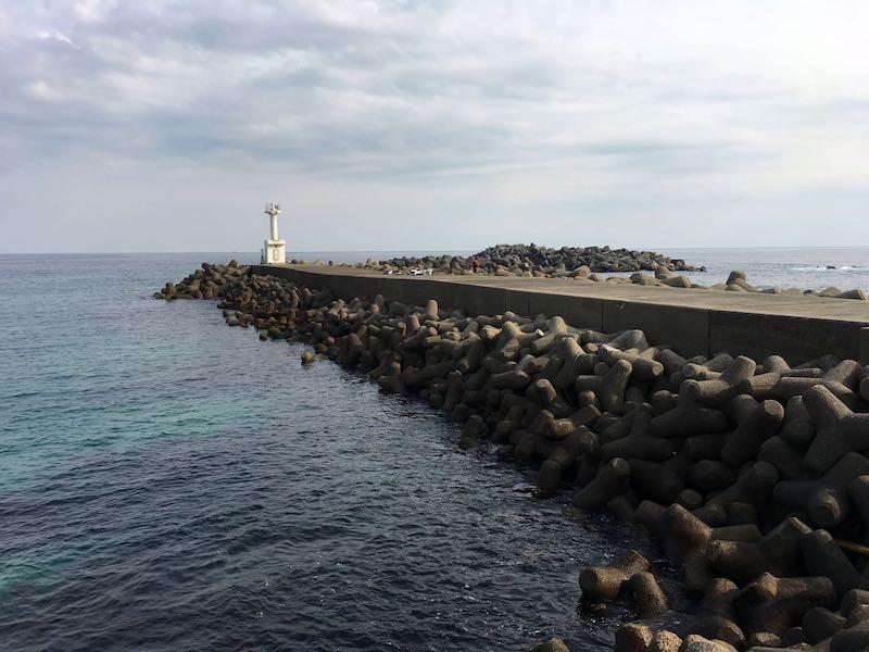 天津港の釣り場43