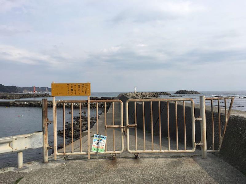 天津港の釣り場30