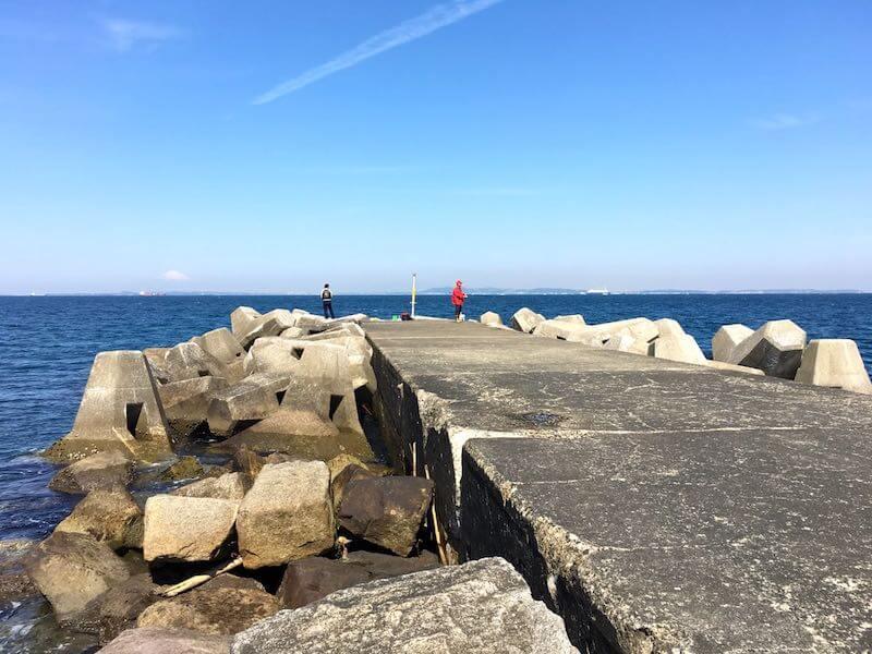 龍島港の釣り場13