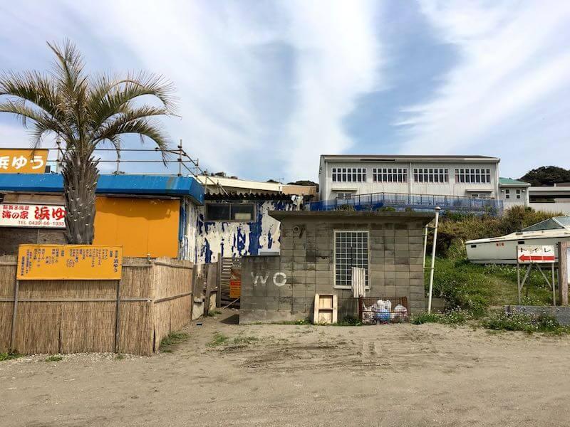 新舞子海岸の釣り場14