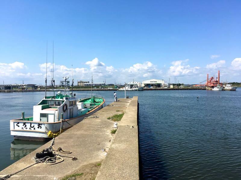 片貝港の釣り場06