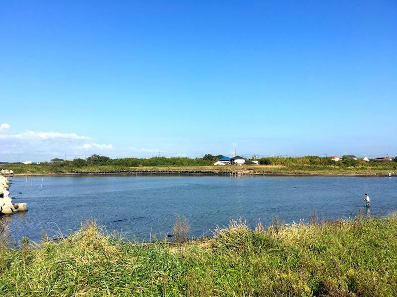 夷隅川河口の釣り場35