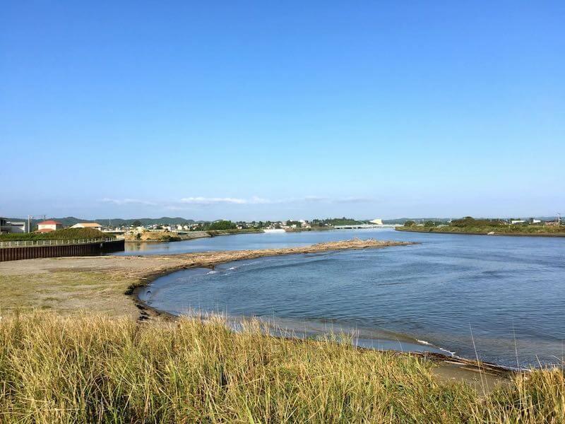 夷隅川河口の釣り場22