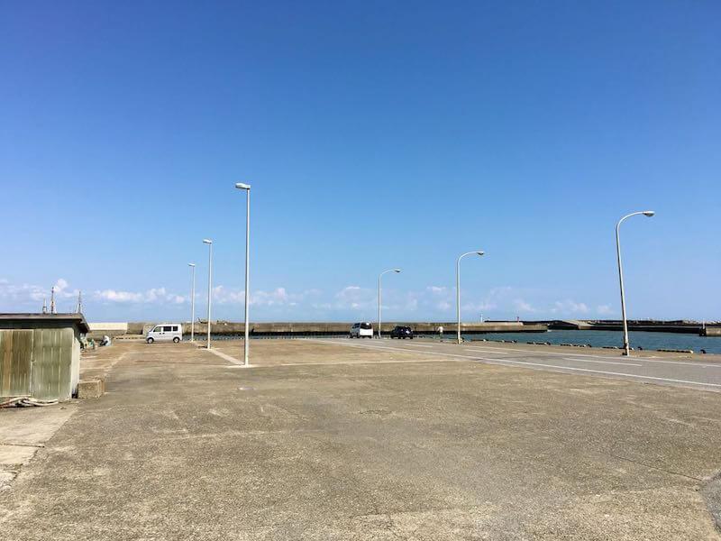 太東港の釣り場20