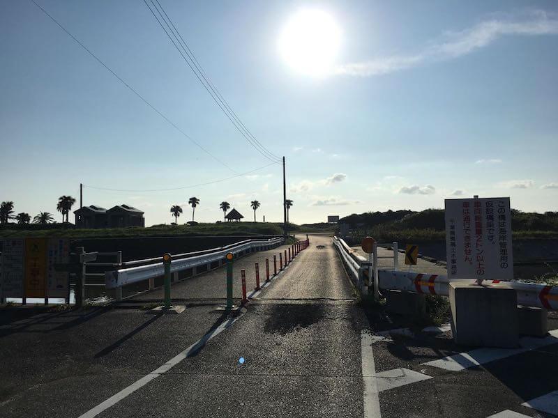 夷隅川河口の釣り場16