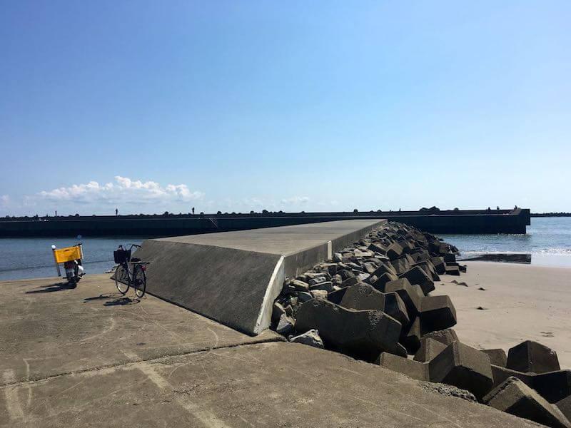 片貝港の釣り場11