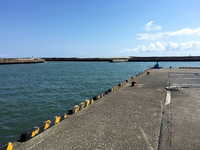 太東港の釣り場18