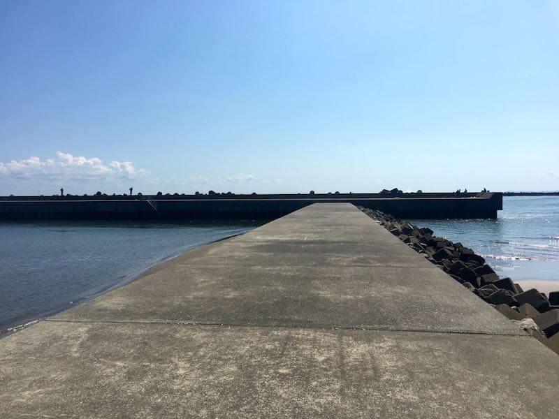 片貝港の釣り場12