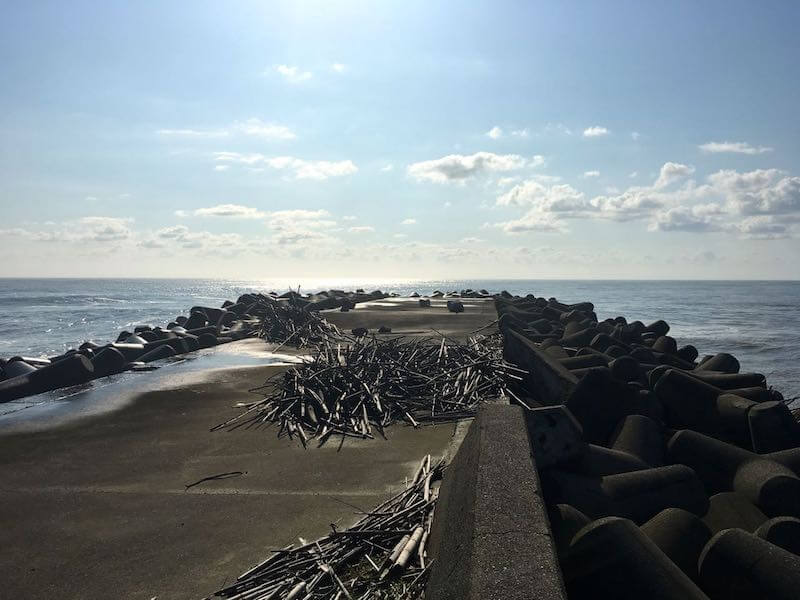 夷隅川河口の釣り場32