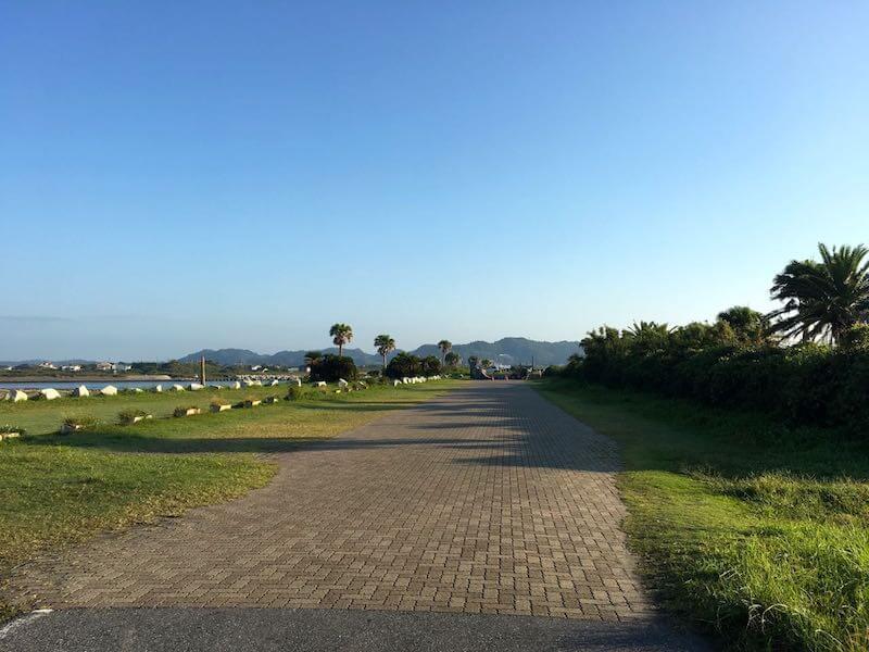 夷隅川河口の釣り場15