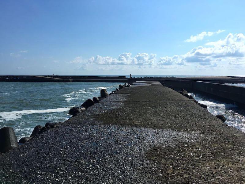 太東港の釣り場13