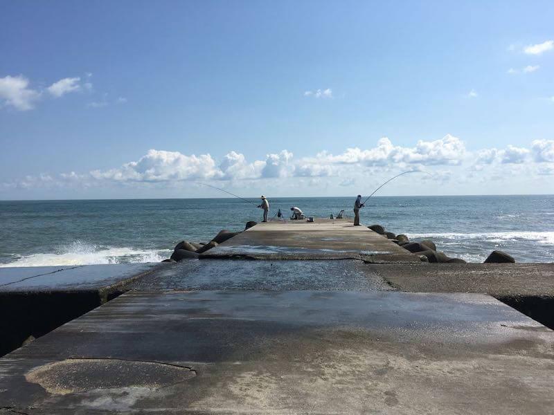 太東港の釣り場24