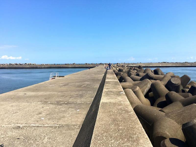 片貝港の釣り場13