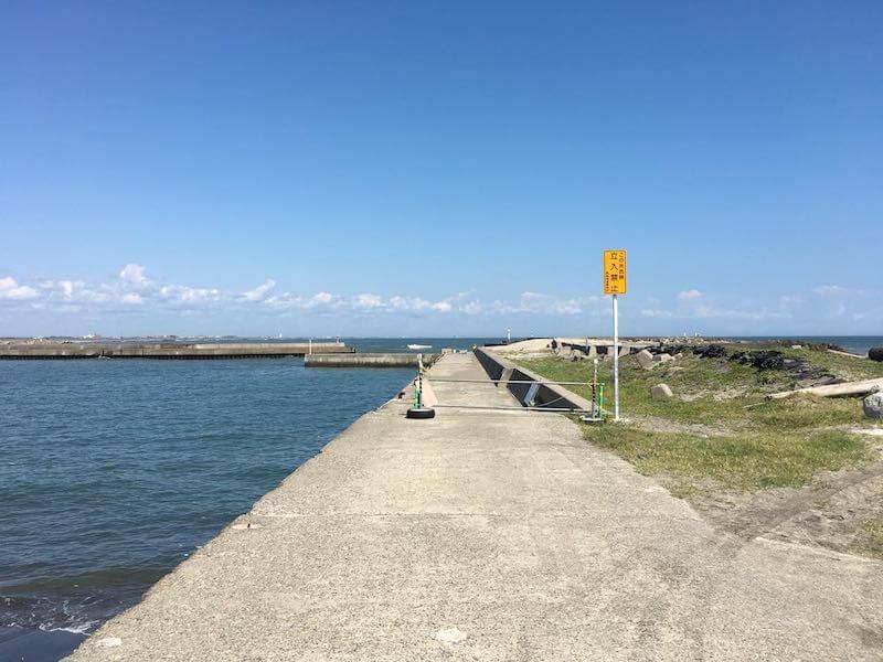 太東港の釣り場23