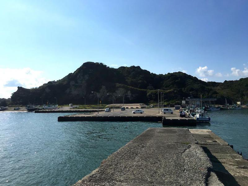 太東港の釣り場09