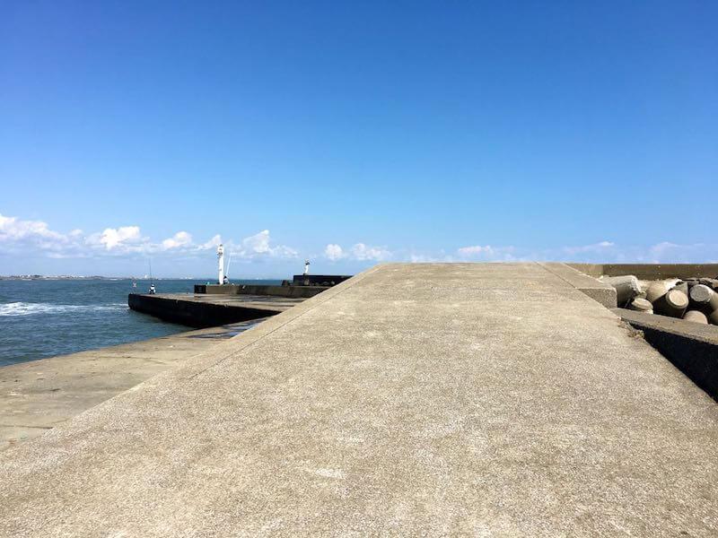太東港の釣り場26