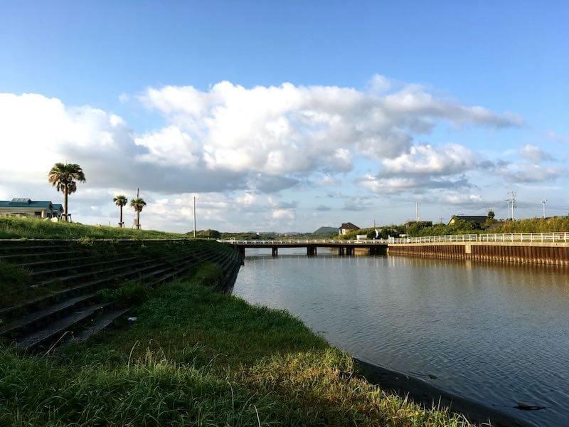 夷隅川河口の釣り場11