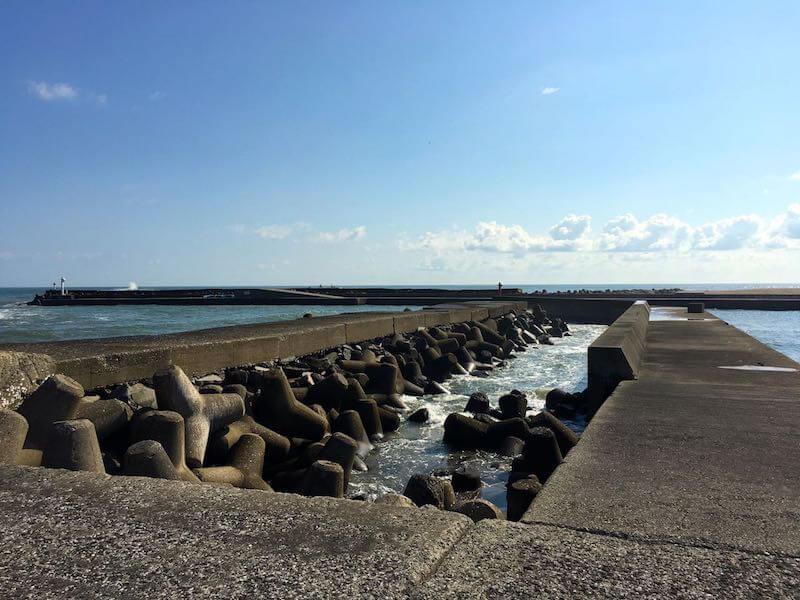 太東港の釣り場11