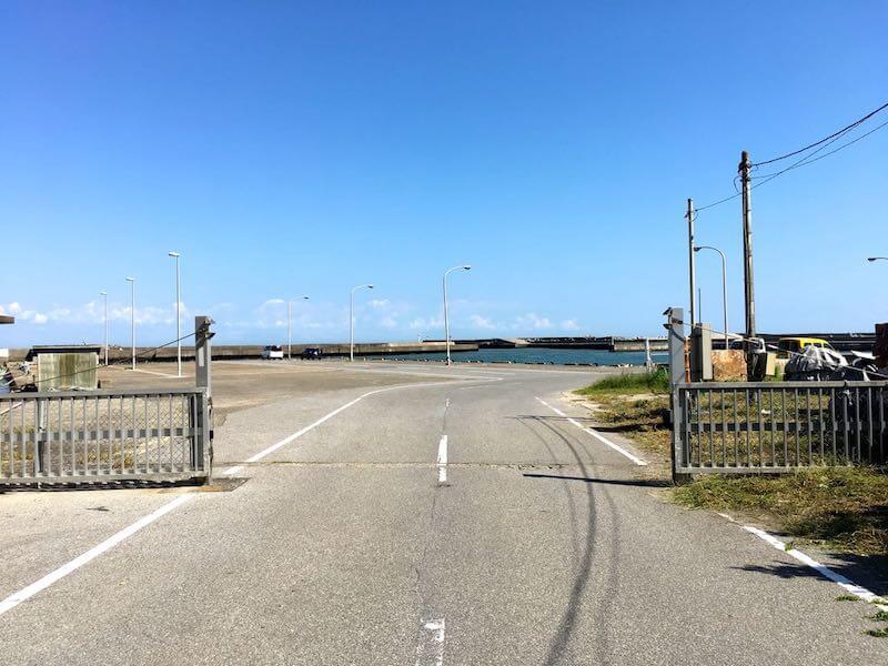 太東港の釣り場19