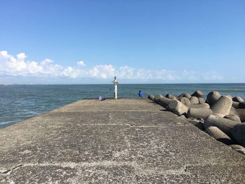 太東港の釣り場12