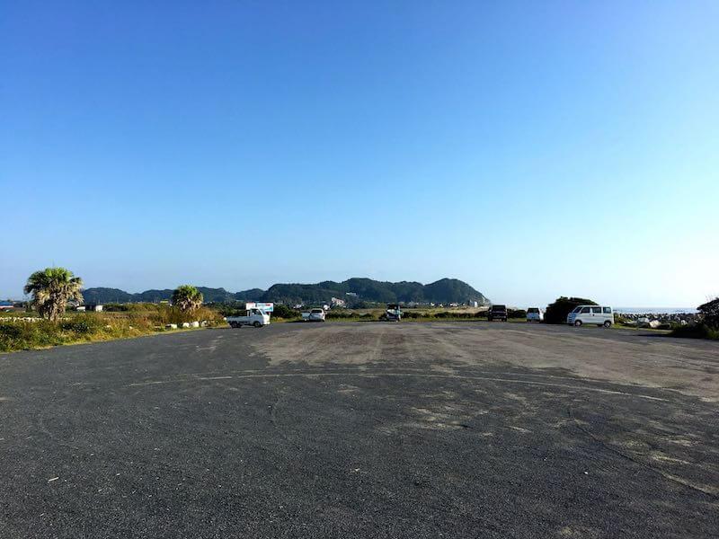 夷隅川河口の釣り場23