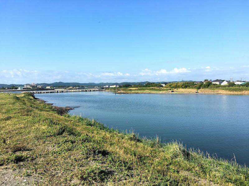 夷隅川河口の釣り場29