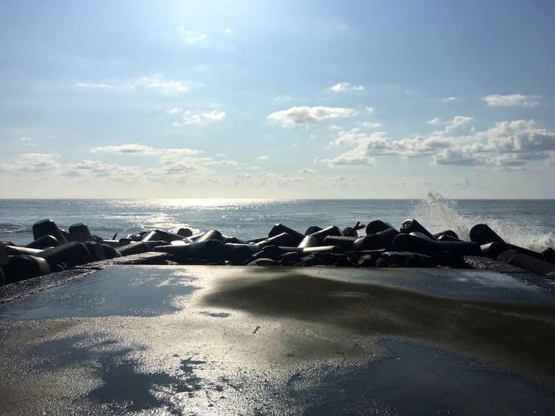 夷隅川河口の釣り場33