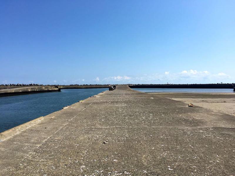 片貝港の釣り場20