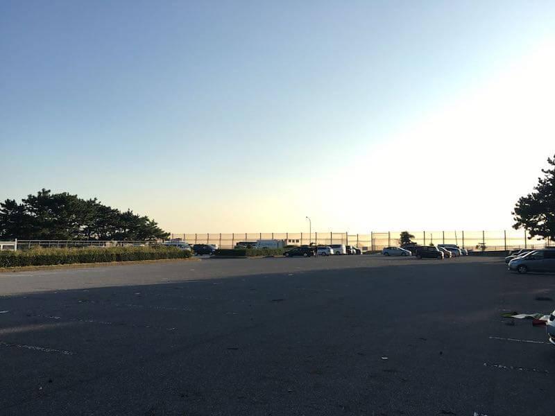 検見川浜の釣り場45