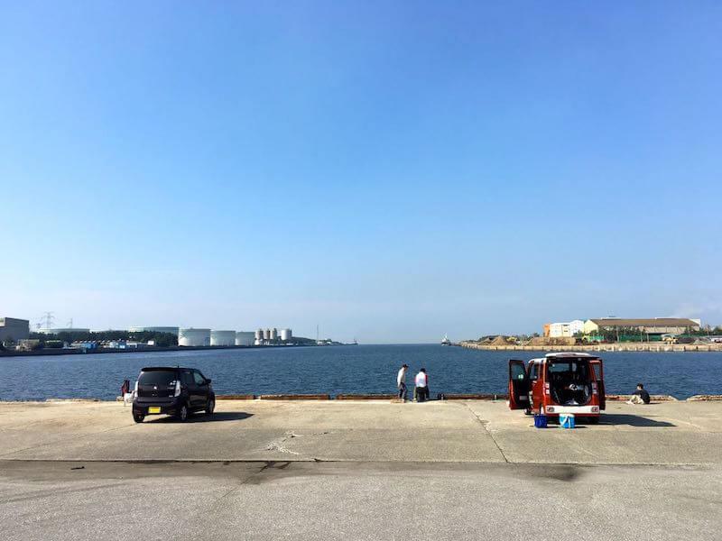 長浦港の釣り場22