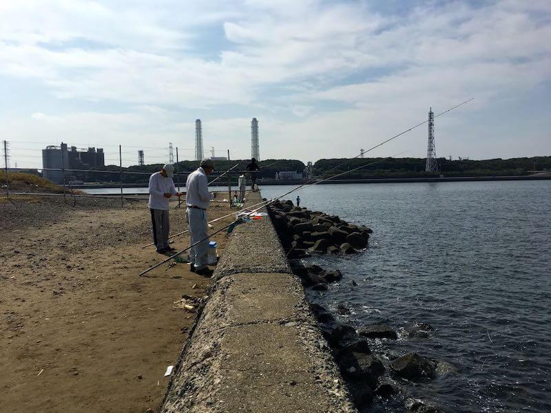 長浦港の釣り場04