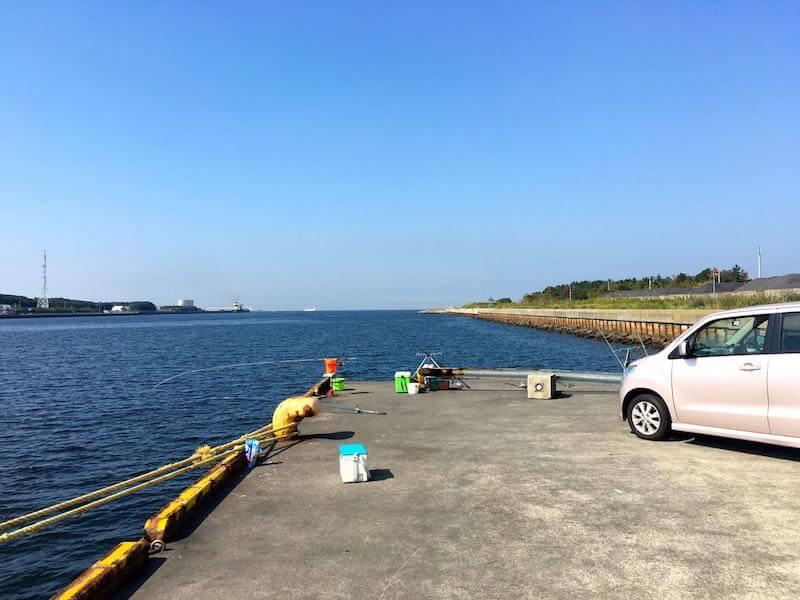長浦港の釣り場12