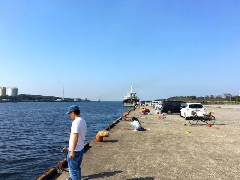 長浦港の釣り場14