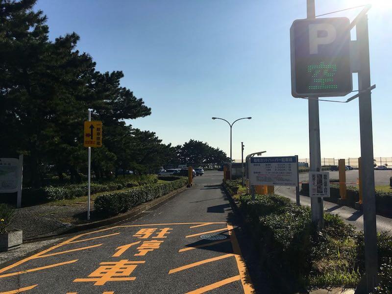 検見川浜の釣り場01