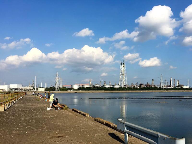 養老川河口の釣り場09