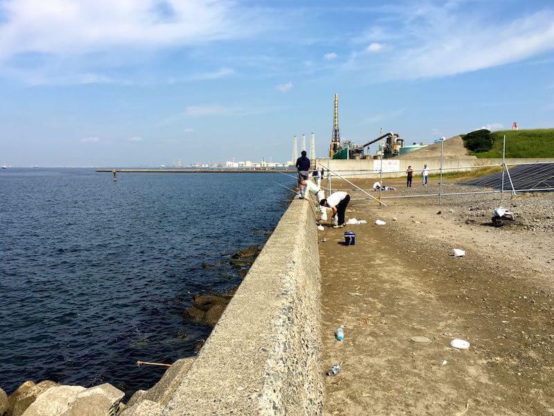 長浦港の釣り場06