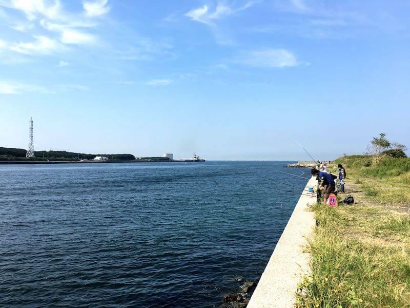 長浦港の釣り場09
