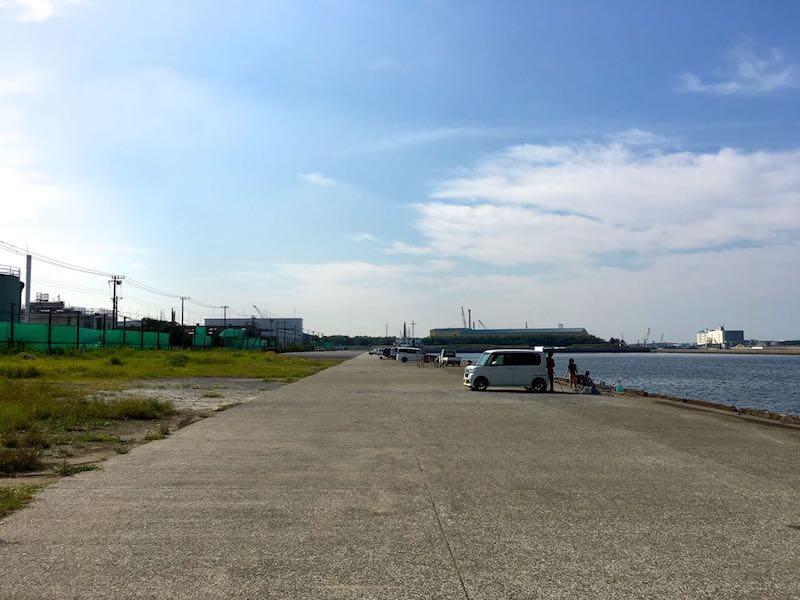 袖ヶ浦港 今井岸壁の釣り場8